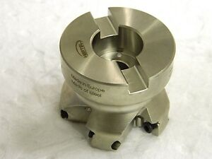 Hertel Indexable Square Shoulder Face Mill 2 1 2 Cutting Diam 84741917