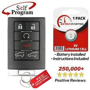 For 2007 2008 2009 2010 2011 2012 2013 2014 Cadillac Escalade Remote Key Fob Fits Tahoe