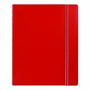 Filofax Classic Notebook Red Letter Size 10 875 X 8 5 Inches 115102