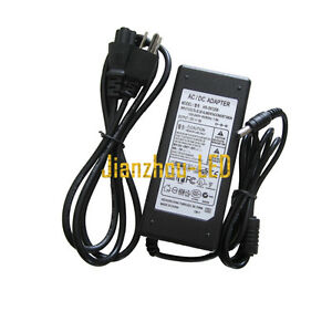 Us 12v 6a Power Supply Ac To Dc Adapter For 5050 3528 Flexible Led Strip Light