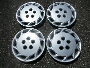 Genuine 1993 To 1999 Toyota Camry 14 Inch Hubcaps Wheel Covers Set Beaters