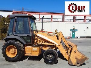 Case 570mxt Skip Wheel Loader Backhoe Skid Steer Diesel 4 In1 Bucket