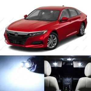 14 X White Led Lights Interior Package For Honda Accord 2013 2021 Pry Tool