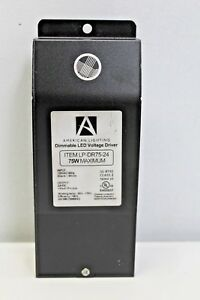 American Lighting 75w Max 24vdc Voltage Dimmable Led Driver Lp dr75 24