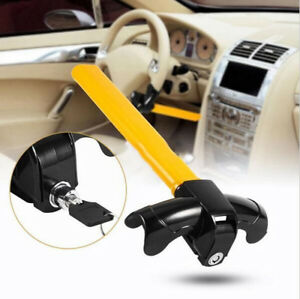 Car Steering Wheel Anti Theft Lock Security Rotary Steering Security Device Tool