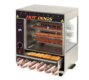 Star 175cba quick ship Broil o dog Hot Dog Broiler