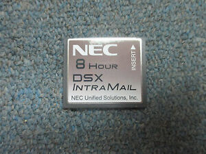 Nec Dsx 40 80 160 1091011 V1 3 G Intramail 4 Port 8 Hour Flash Voice Mail System