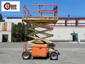2009 Jlg 260mrt 26ft Rough Terrain Scissor Boom Man Aerial Lift 4x4