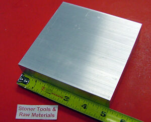 2 Pieces 1 1 2 X 5 Aluminum 6061 T6511 Solid Flat Bar 5 Long Plate Mill Stock