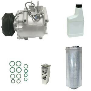 Ryc Remanufactured Complete Ac Compressor Kit A012 Fits Honda Civic 1 7l 2001