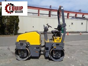 Unused Dynapac Cc1200 Double Drum Asphalt Vibrating Roller Compactor only 5 Hrs