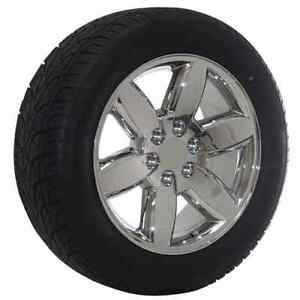 20 Chevy Truck Suv Factory Oem Replica Chrome Wheel Tire Package