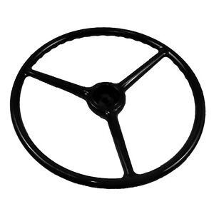 Chevrolet Chevy Gmc Truck Steering Wheel Black 1947 1953