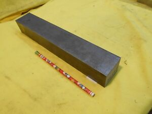1018 Cr Steel Flat Bar Stock Machine Shop Rectangle Plate 1 3 4 X 2 X 12 Oal