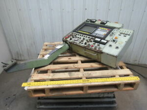 Okuma Osp 5000l Operator Interface Panel Arm From A Working Lc20 2sct Cnc Lath