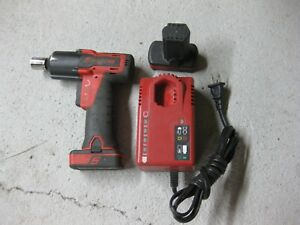 Snap On 3 8 Impact Wrench 2 Batteries Charger Snap on Ct761 Ctc772