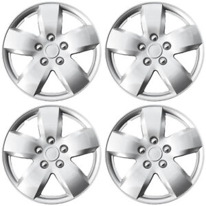 Hubcaps Fits 91 93 Chrysler Daytona 15 Inch Silver Replacement Wheel Cover Rim