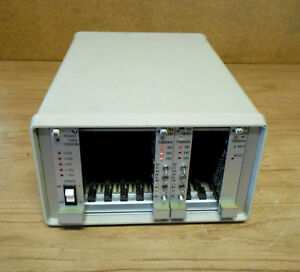 Lep ludl Electronic Microscope Controller 7300200 Pssyst fwshc 10 slot Chassis