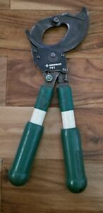 Greenlee 761 Two Handed Ratchet Cable Cutter