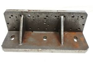 14 5 X 5 X 5 5 Precision Machinist 45 Angle Slotted Threaded Cast Iron Plate