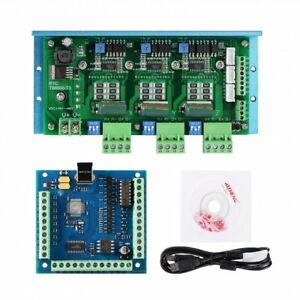 Cnc Tb6600 3 axis Stepper Motor Driver Board Usb Controller Board With Power