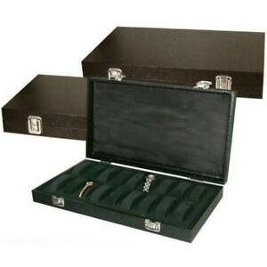 3 18 Watch Travel Tray Solid Top Jewelry Display Case