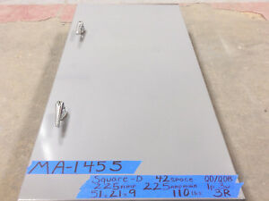 Square D 225 Amp Panel Panelboard Main 3r 120v 208v 240v 1ph Qo qob 200 175 42sp