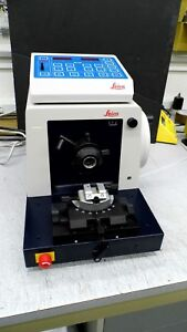 Leica Model Jung Rm2065 Rotary Microtome With Controller