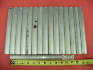 16 Pieces 1 Aluminum 6061 Round Rod 9 1 Long Solid Bar 1 0 Od New Lathe Stock