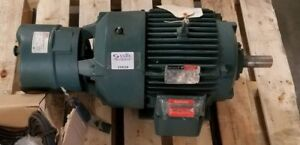 Reliance Electric Motor 15 Hp 254t Frame 1760 Rpm 3 Phase Model P25g1705e G5 Wr