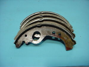 Fiat Strada 128 Yugo Gvx Rear Brake Shoes 081 0309