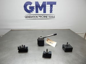 Phase Ii 250 200 Series Tool Post 3 Tool Holders bxa Style gmt 1543