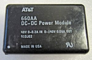 660aa At t Dc dc Power Module 48v 0 02a In 0 140v 0 06a Out