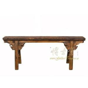 Chinese Antique Country Bench Coffee Table 18lp39