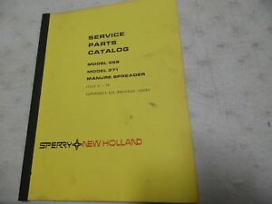 New Holland 368 371 Manure Spreader Parts Catalog 2 79