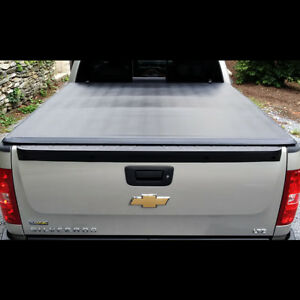 2014 2016 Chevy Gmc Silverado Sierra 6 5ft Short Bed Soft Tri Fold Tonneau Cover