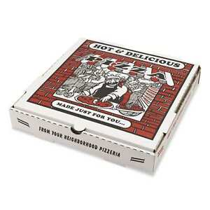Pizza Box White Takeout Containers pack Of 50