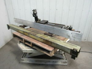 Donewell 140 8h Brake Press Power Feeder Unit Assembly Cnc