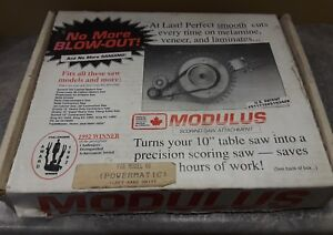 Modulus Scoring Saw Attachment For Left Hand Table Saw Ss 100l Powermatic 66 Jet