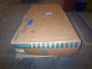 New Siemens Hf327n 800 Amp 240v 3ph 4 Wire Type 1 Fused Safety Switch Disconnect
