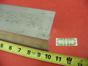 2 3 4 X 2 3 4 Aluminum 6061 Square Solid Bar 10 Long T6511 Flat Mill Stock