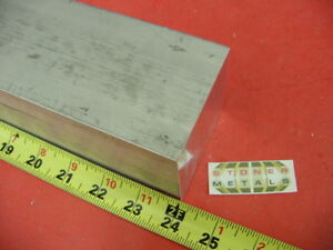 2 3 4 X 2 3 4 Aluminum 6061 Square Solid Bar 24 Long T6511 Flat Mill Stock