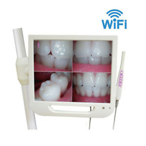 Wifi Dental Wired Intraoral Camera With 17 Inch Screen Monitor Hd a Fly