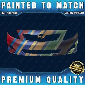 Painted To Match Front Bumper Direct Fit For 2009 2010 Toyota Corolla 4dr S Xrs