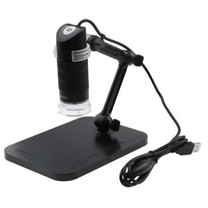 Digital Microscope 8 Led Endoscope 1000x 1600x Zoom Magnifier Loupe With Stand