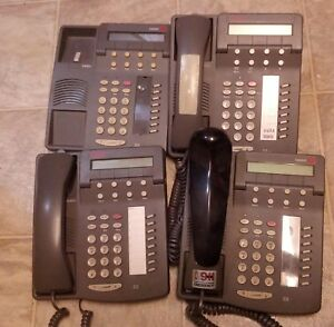 Lot Of 4 Lucent 6408d Business Phones No Stand Or Wires