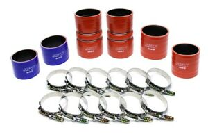 Hps Silicone Intercooler Turbo Hose Boots Kit With T Bolt Clamps 57 1539
