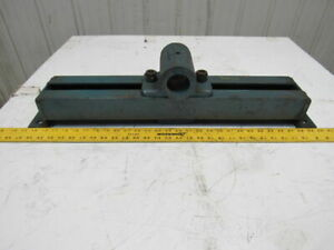 Jeffery Approx 18 Travel Mounted Bearing Conveyor Take up 1 15 16 Bore