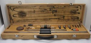 Vintage Socketed Ball bar Set Standard Reference Material 2083 In Wooden Case