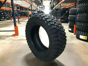 4 New 35 12 50 20 Ginell Mt Tires 35 12 50 20 R20 70r Truck 351220 10 Ply Mud